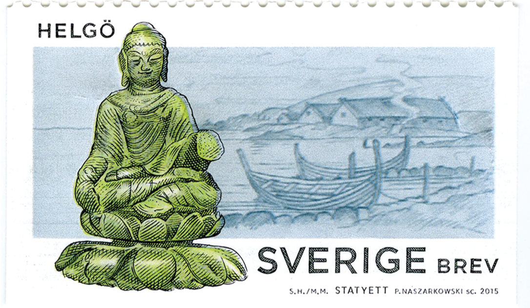 Buddha-stamp