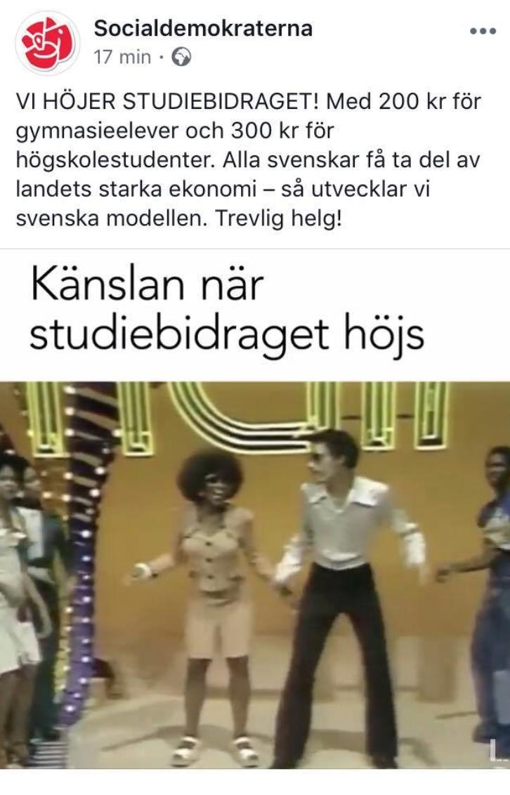 Studenckie zasiłki w Szwecji